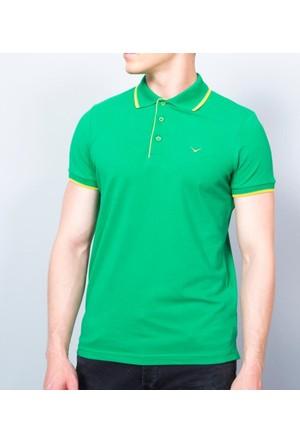 Cazador Erkek Polo Yaka T-Shirt Çimen 4614