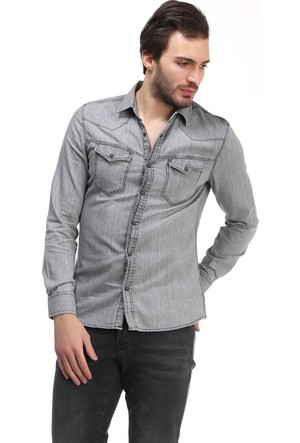 Loft Thorley Erkek Jean Kot Gömlek 2012924