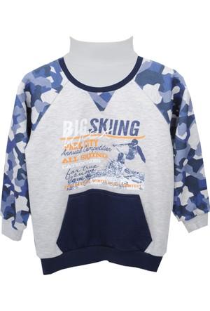 Zeyland Erkek Çocuk Kar Melanj Sweat Shirt 72Z3Fkl63