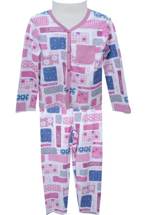 Zeyland Kız Çocuk Pembe Pijama Takım 72Z4Pjm221