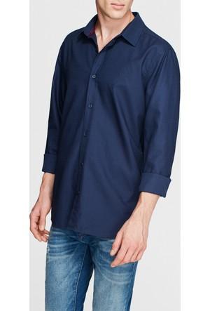 Mavi Erkek Cepsiz Mavi Gömlek