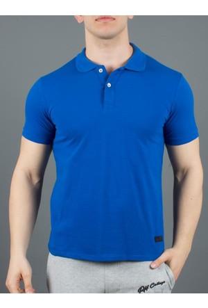 Phazz Brand Tshirt Polo Yaka 4998 Mavi