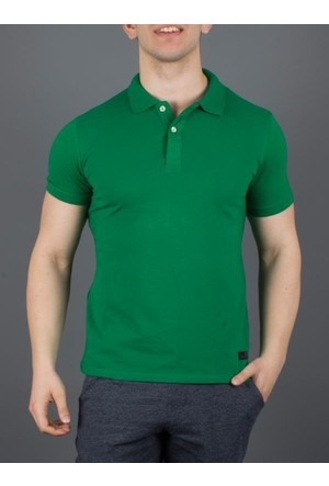 Phazz Brand Tshirt Polo Yaka 4998 Yeşil