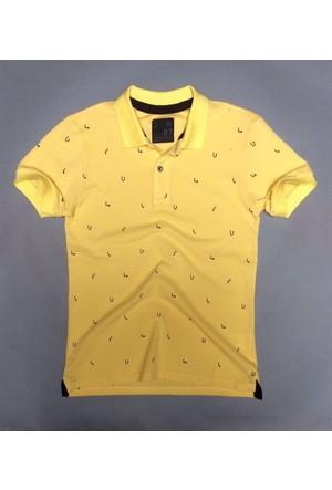Phazz Brand Tshirt Polo Yaka 4680 Sarı