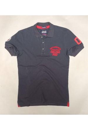 Phazz Brand Tshirt Polo Yaka 4678 Antrasit