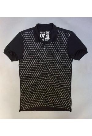 Phazz Brand Tshirt Polo Yaka 4670 Siyah