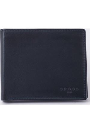 Cross Fv Range Slim Siyah Mavi Kredi Kart Cüzdanı Ac038121-2