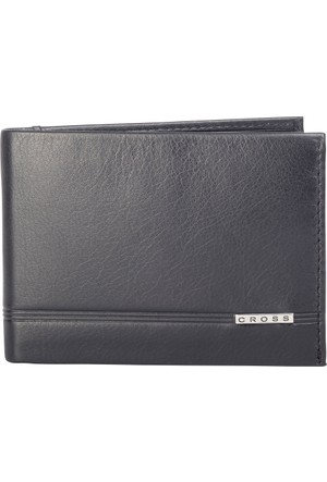 Cross Classic Century Slim Bi-Fold Siyah Cüzdan Ac018068-1