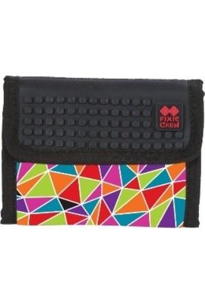 Pixie Pxa-10-05 Siyah/Mozaik Cüzdan
