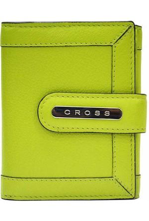 Cross Nappa Naturel Small Yeşil Cüzdan Ac508145-3