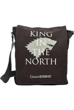 Game Of Thrones Yan Çapraz Çanta Stark Füme Got113