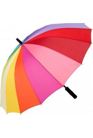 Biggbrella Rn16Mix Gökkuşağı Şemsiye - Boyut - Uzun