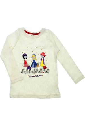 Modakids Wonder Kids Kız Çocuk Uzun Kol Tshirt 010-2300-028