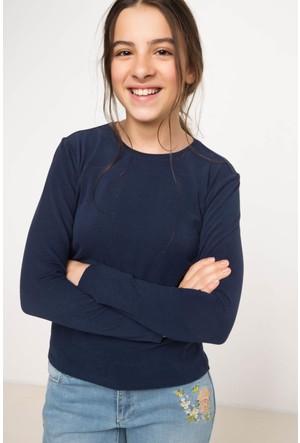 Defacto Genç Kız Slim Fit Sweat Shirt H1738A617Aube458