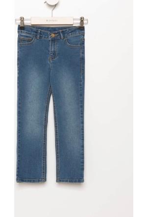 Defacto Kız Çocuk Denim 5 Cep Pantolon H4099A417Aunv135