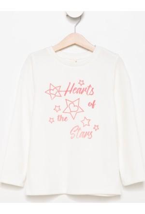 Defacto Baskılı Kız Çocuk Sweat Shirt H6017A417Auer105