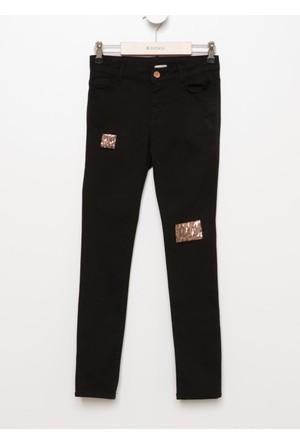 Defacto Genç Kız Slim Fit Pantolon H5141A617Aubk27
