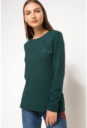 Defacto Uzun Kollu Sweat Shirt G9392Az17Augn465