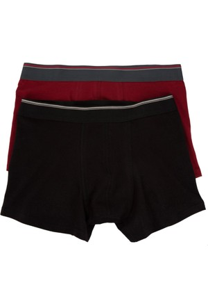 Defacto 2'Li Basic Boxer İç Çamaşırı H2976Az17Aubr265