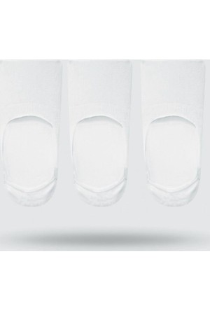 John Frank Üçlü Babet Çorap Jf3Ns17S01 Beyaz