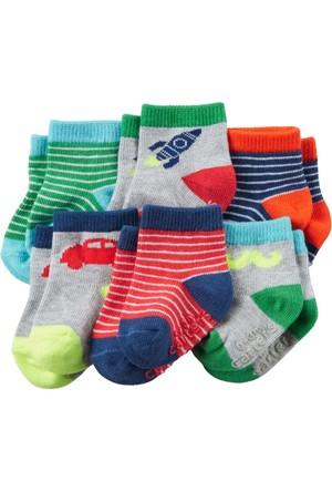 Carter's Erkek Bebek 6'Lı Çorap 16470