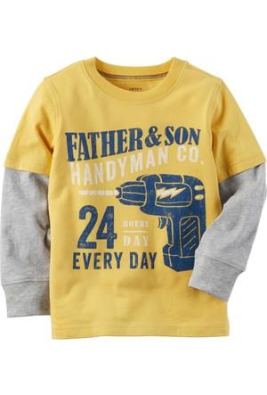 Carter's Erkek Çocuk Uzun Kollu Sweatshirt 263H276