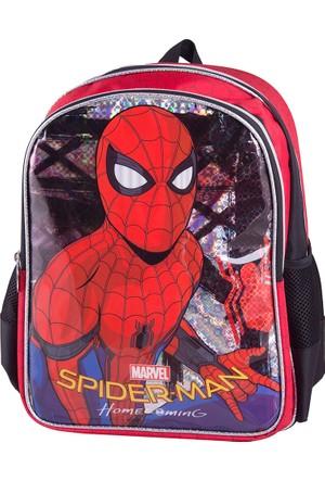 Spiderman 89349 Kırmızı Erkek Çocuk Okul Çantası