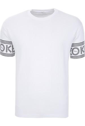Kenzo Erkek T-Shirt F665Ts0434Bd