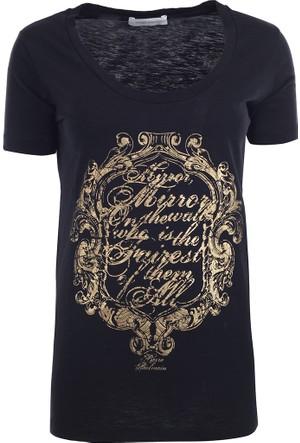 Pierre Balmain Kadın T-Shirt Fp67212Tc7289