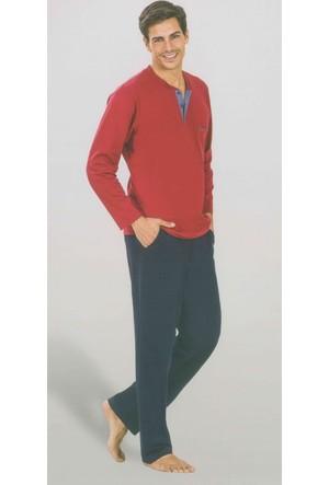 Pierre Cardin 5353 Uzun Kollu Penye Erkek Pijama Takımı