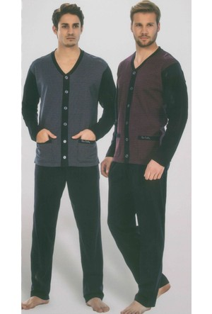 Pierre Cardin 5281 Uzun Kollu Erkek Pijama Takımı