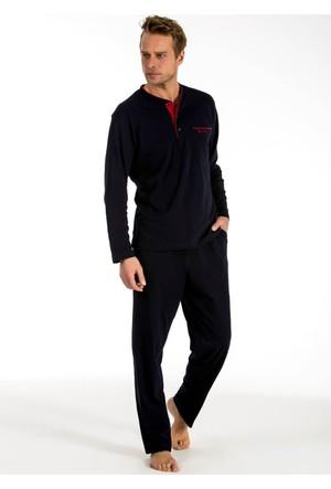Pierre Cardin 5545 Erkek Çeyizlik Uzun Kollu Pijama Ropdöşambır Set