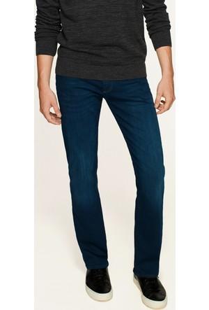 Mavi Erkek Martin Derin Mavi Gölgeli Amerika Black Jean Pantolon