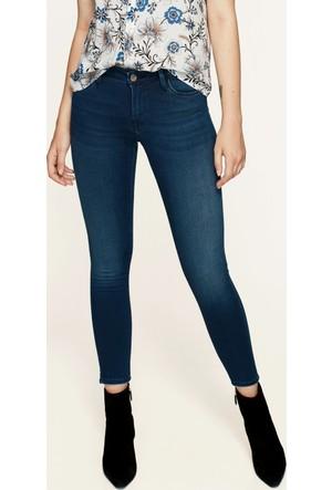 Mavi Adriana Ankle Derin Mavi Gold Jean Pantolon