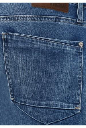 Mavi Erkek Jake Zımparalı Mavi Jean Pantolon