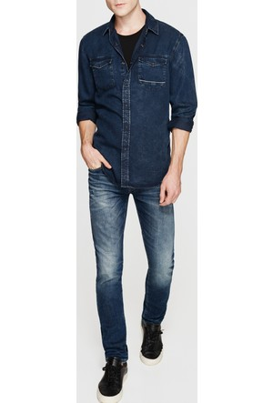 Mavi Erkek Rio Random Jean Gömlek