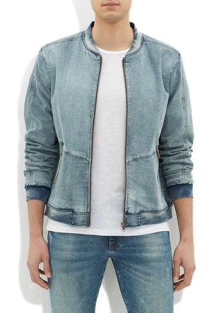 Mavi Erkek Sergio Açık Mavi Jean Ceket
