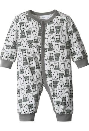Bpc Bonprix Collection Erkek Çocuk Beyaz Jarse Tulumu