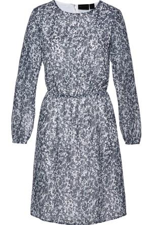 Bpc Selection Kadın Mavi Baskılı Elbise