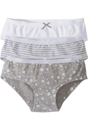 Bpc Bonprix Collection Kız Çocuk Beyaz Panty Külot (3'Lü Paket)