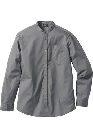 Bpc Bonprix Collection Erkek Gri Uzun Kollu Gömlek