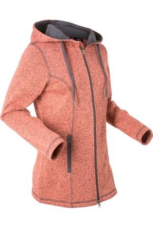 Bpc Bonprix Collection Kadın Turuncu Kapüşonlu Polar Sweatshirt