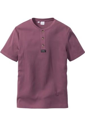 John Baner Jeanswear Erkek Pembe Fit Kesim T-Shirt