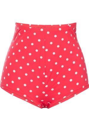 Bpc Bonprix Collection Kadın Kırmızı Panty Model Bikini Altı
