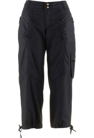 Bpc Bonprix Collection Kadın Siyah Düşük Bel Safari Pantolon