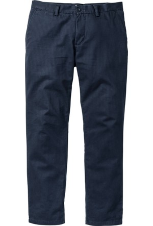 Bpc Bonprix Collection Erkek Mavi Chino Pantolon