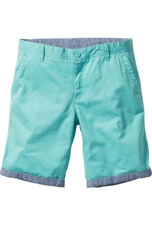 Bpc Bonprix Collection Erkek Yeşil Chino Bermuda