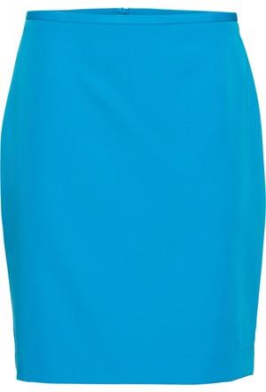 Bodyflirt Kadın Mavi Kalem Etek