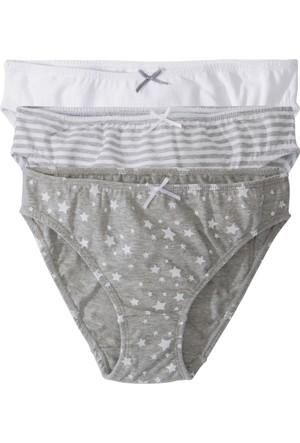 Bpc Bonprix Collection Kız Çocuk Beyaz Slip (3'Lü Paket)