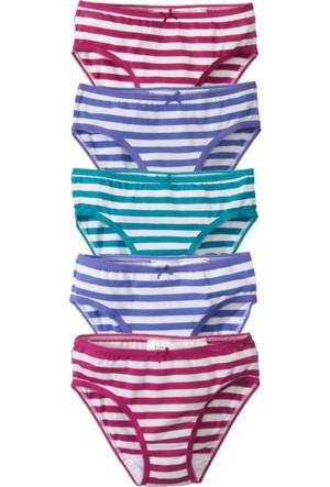 Bpc Bonprix Collection Kız Çocuk Pembe Slip (5'Li Paket)
